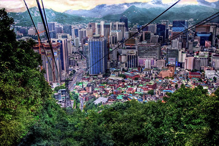 Descending Into Seoul Photograph