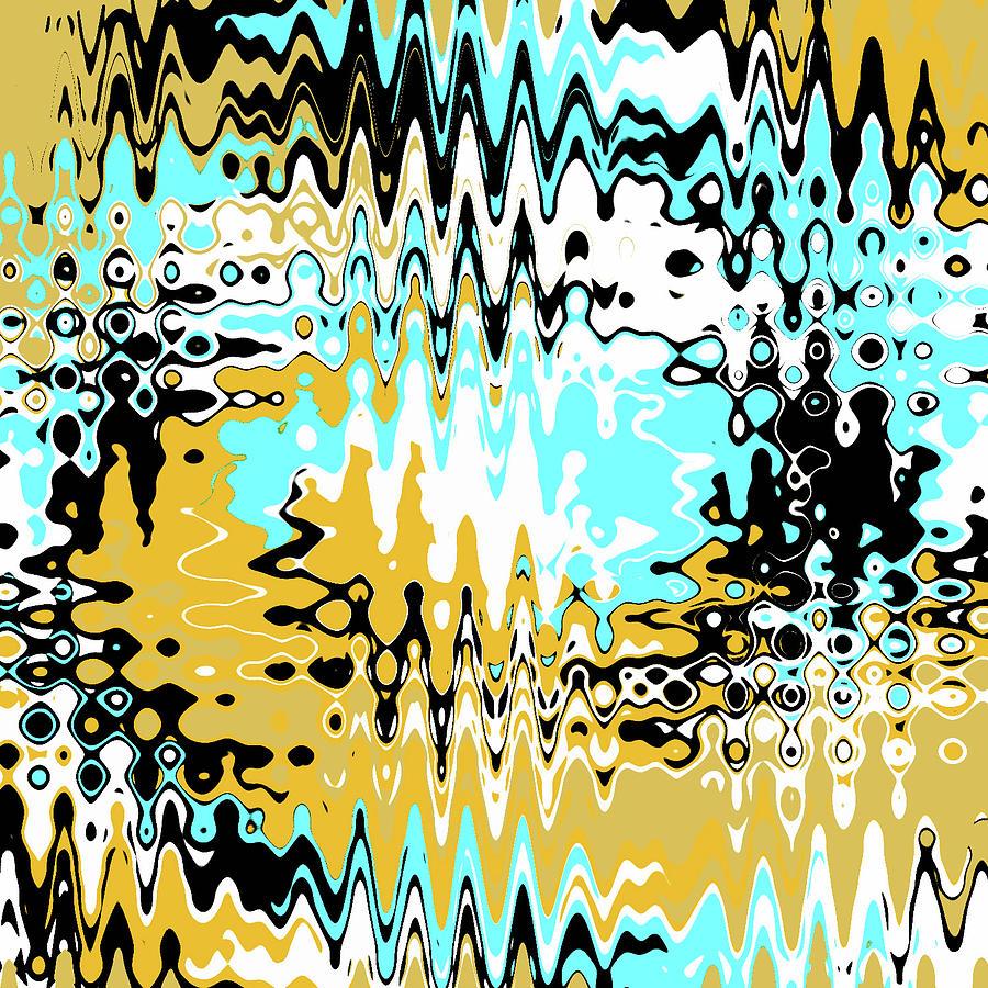Abstract Digital Art - Desert Dreams by Jeremy Edsall