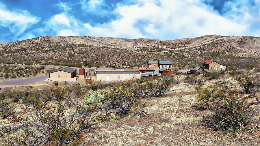 Desert Ghost Town Photograph