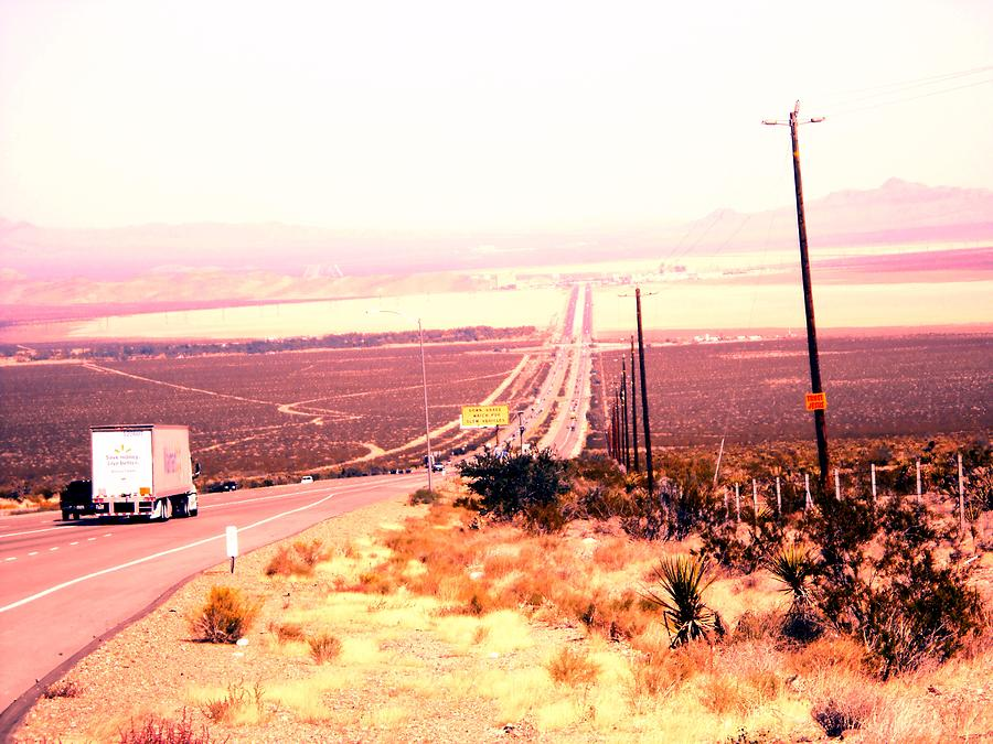 Desert Highway Photograph
