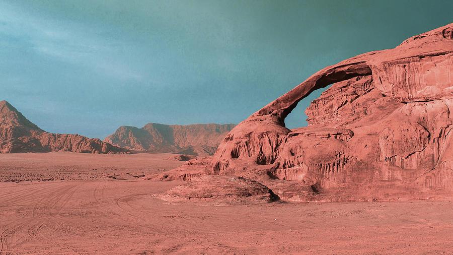 Desert Mountains - Surreal Art By Ahmet Asar Digital Art