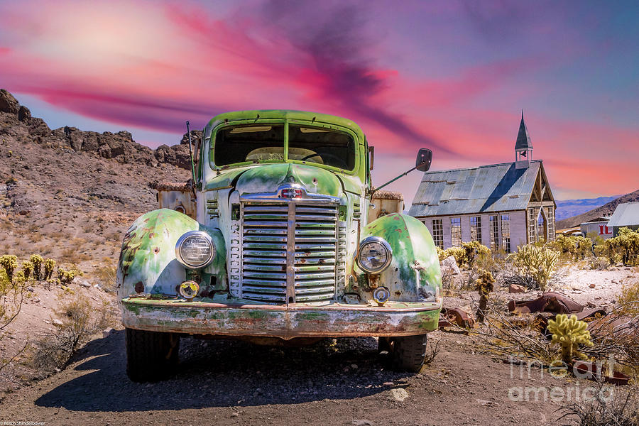 Desert Rust Photograph
