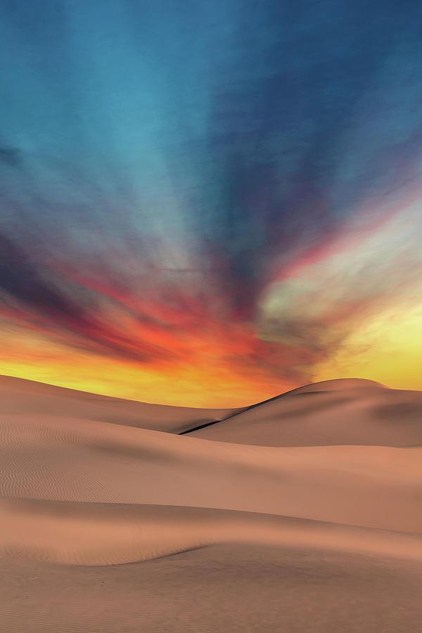 Desert Sunset by Jon Glaser