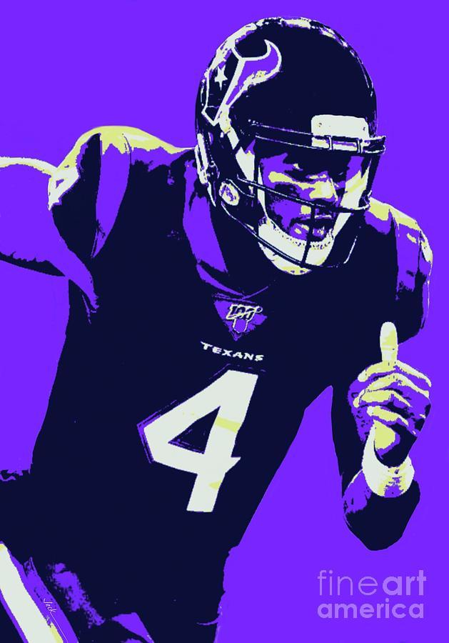 deshaun watson purple jersey