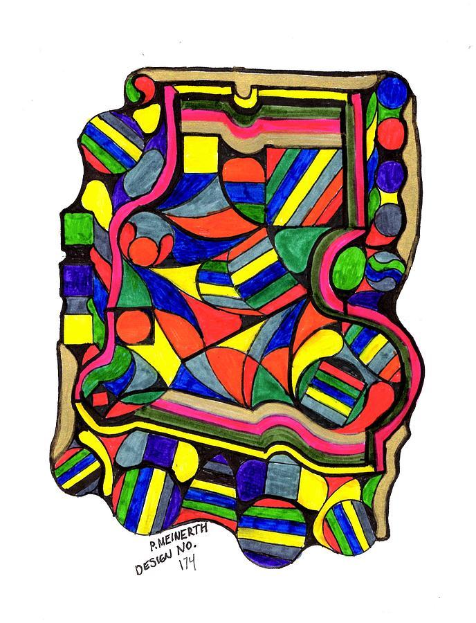 Design No. 174 Drawing