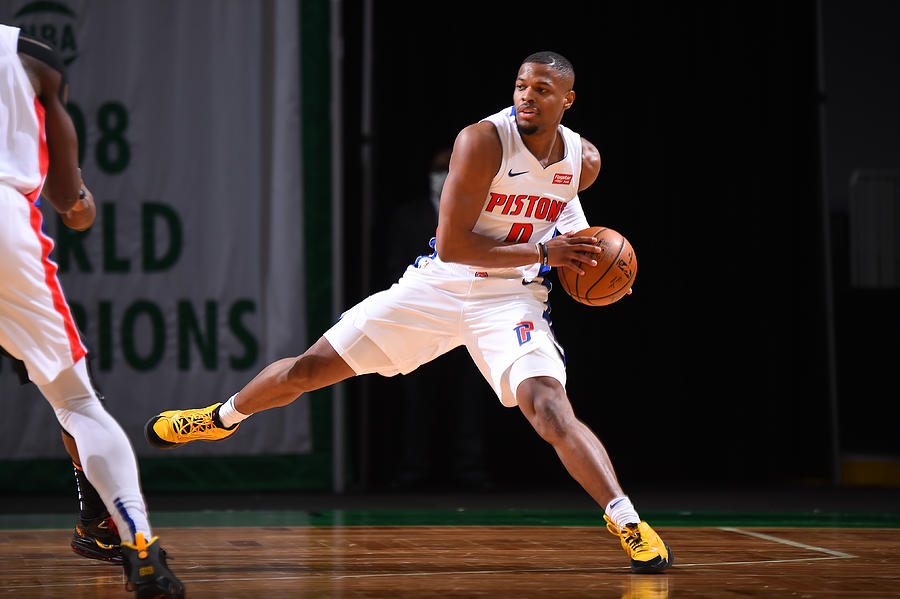 Detroit Pistons v Boston Celtics Photograph by Brian Babineau