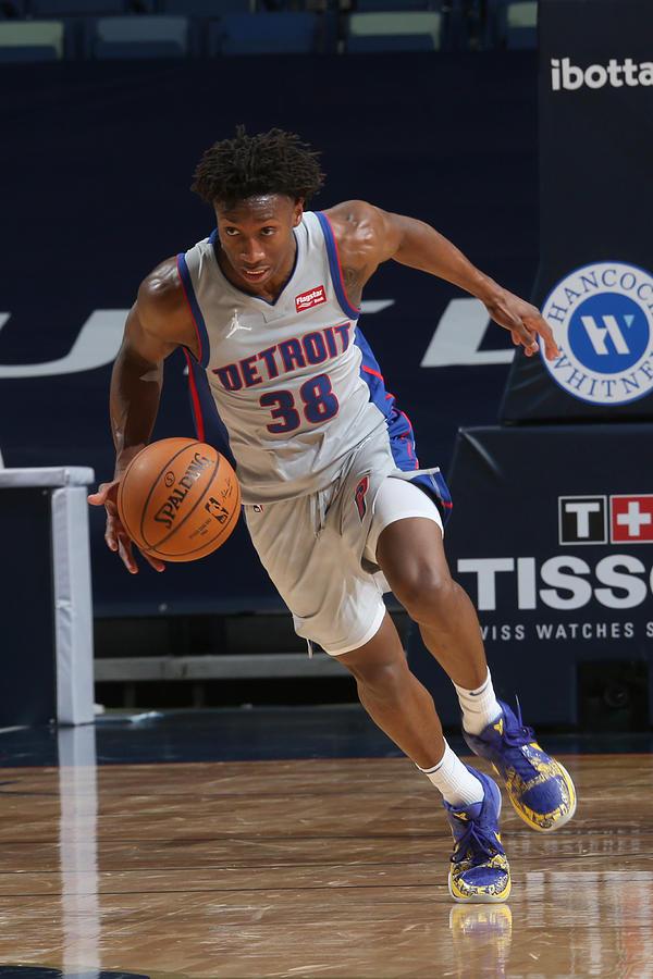 Detroit Pistons v New Orleans Pelicans Photograph by Layne Murdoch Jr.