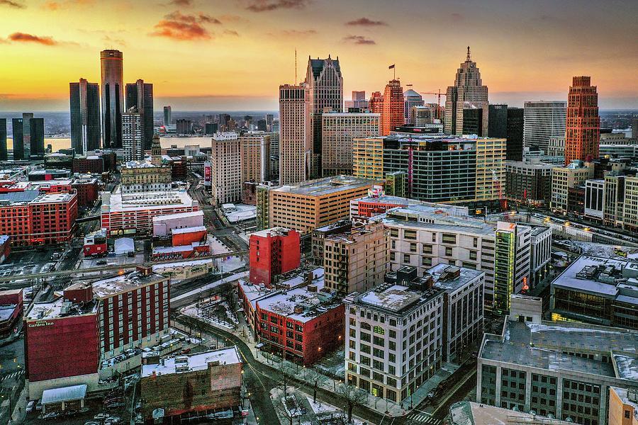 Detroit Skyline DJI_0745 by Michael Thomas