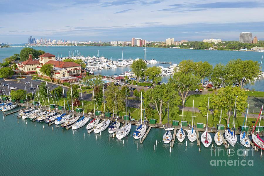 Detroit Yacht Club Photograph