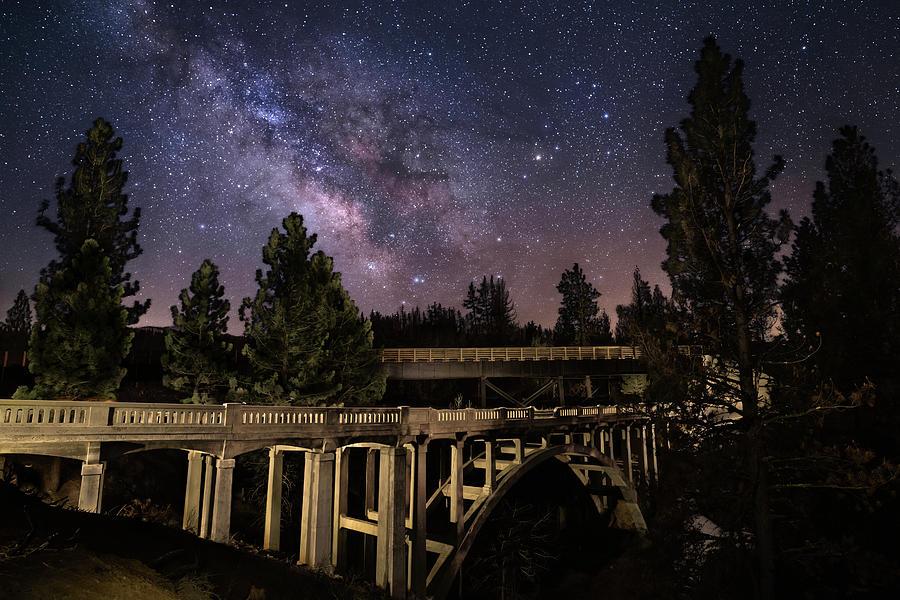 Devils Corral Nightscape Photograph