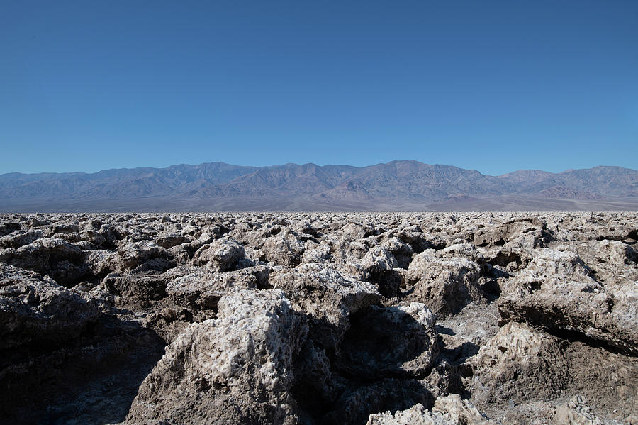 Devil's Golf Course Death Valley by Mike Gifford