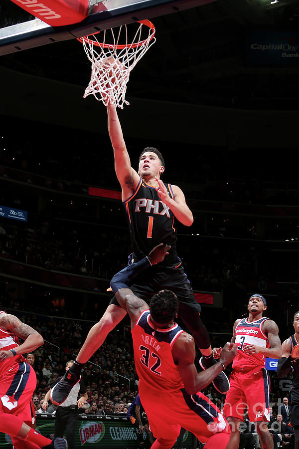 Devin Booker Photograph by Ned Dishman
