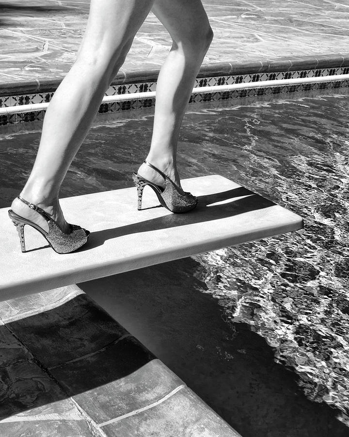 Palm Springs Photograph - DIAMONDS ON HEELS Palm Springs  by William Dey