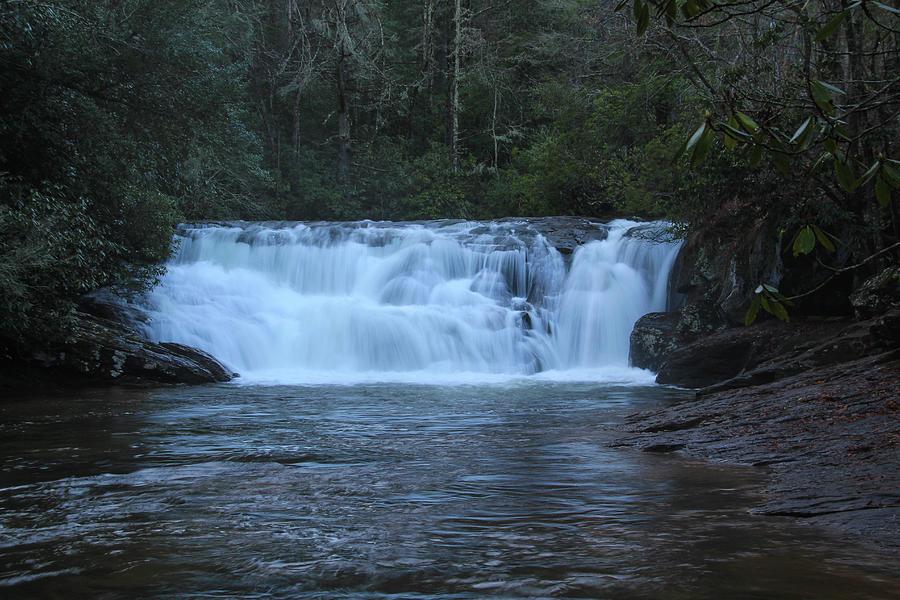 Dicks Creek Falls by Richard Parks