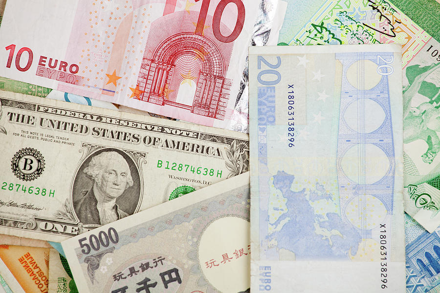 Different Banknotes, Money Background Photograph