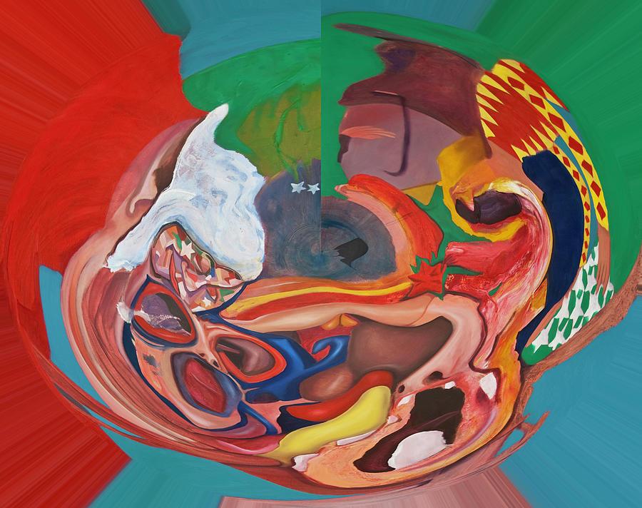 Digital The Intimacy Of Verbal Conflict Digital Art
