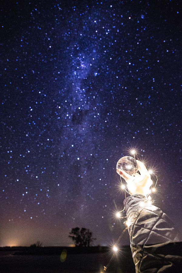 Digitally Composed Image Of Star Field At Night Photograph by James Laird / EyeEm