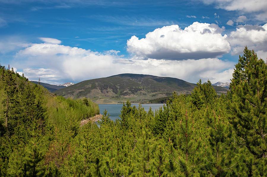 Dillon Reservoir Colorado Photograph