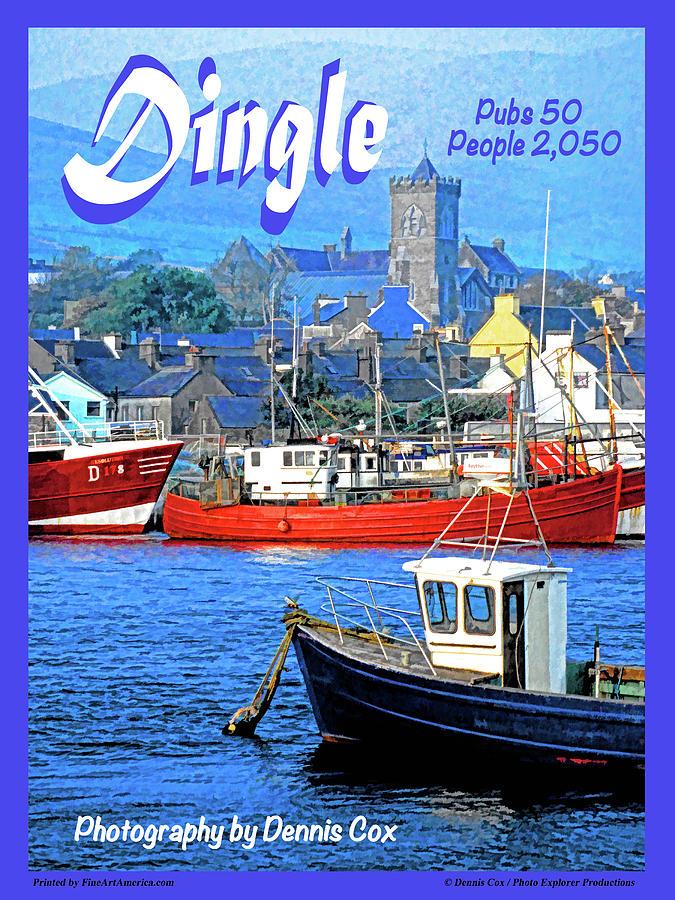 Dingle Travel Poster Photograph