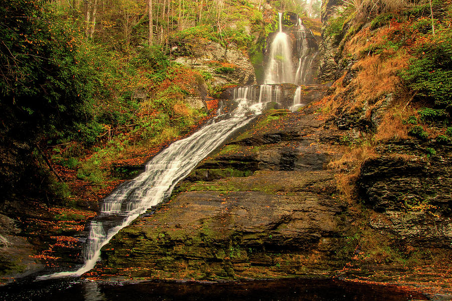 Dingmans Falls by Kristia Adams