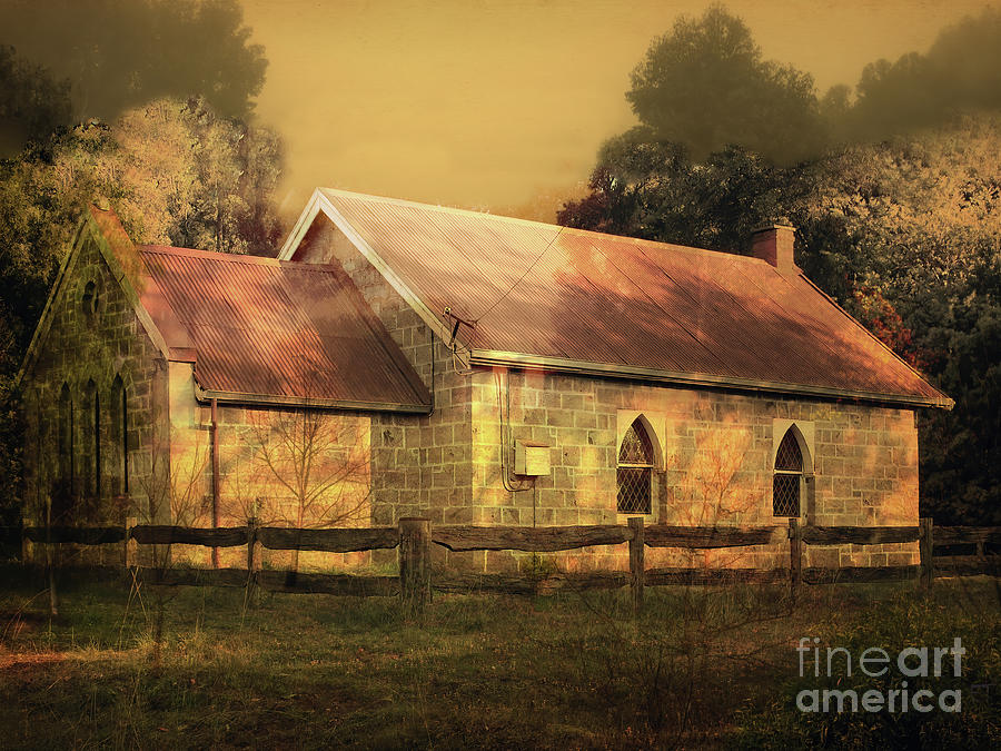 Dingup Church, Manjimup, Western Australia by Elaine Teague