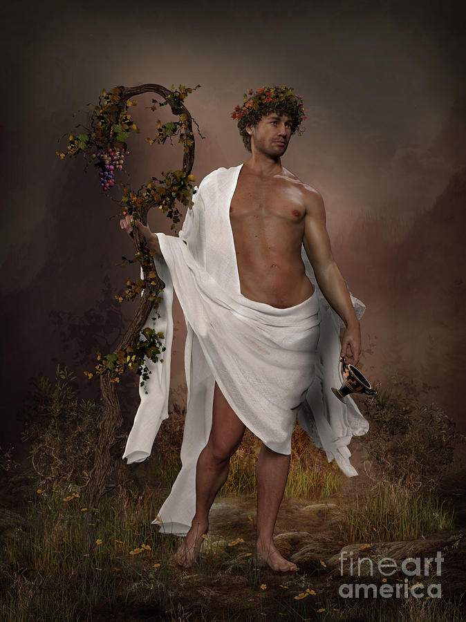 Dionysus God of Wine by Shanina Conway
