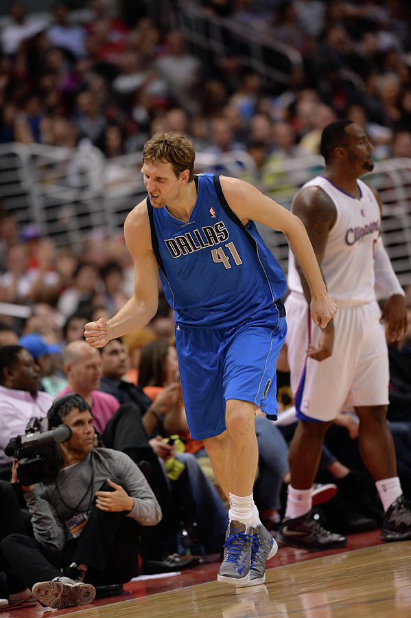 Dirk Nowitzki Photograph by Noah Graham
