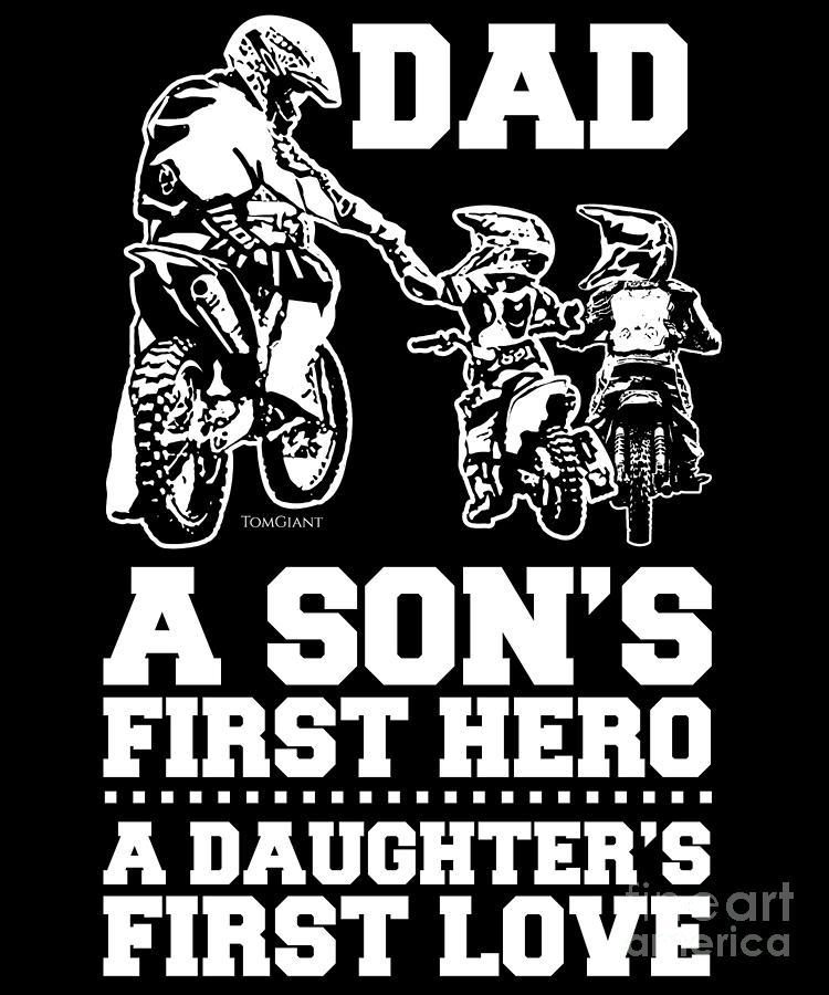 motocross gift Dad dirt bike shirt dirtbike shirt Father And Son Dirt Bike T-shirt dad shirt dirt bike gift fathers day shirt
