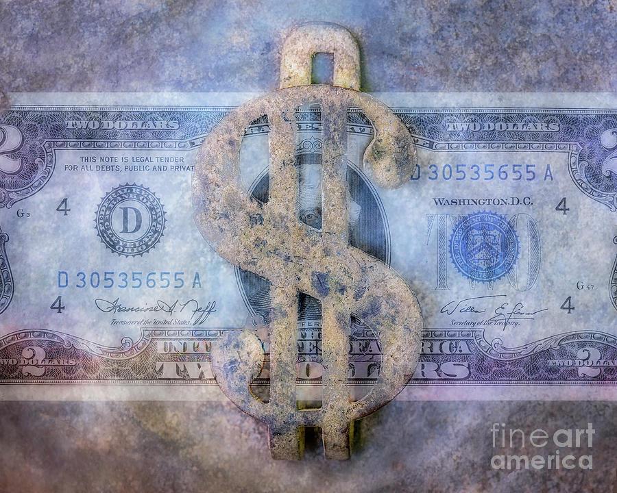 Dirty Money Digital Art