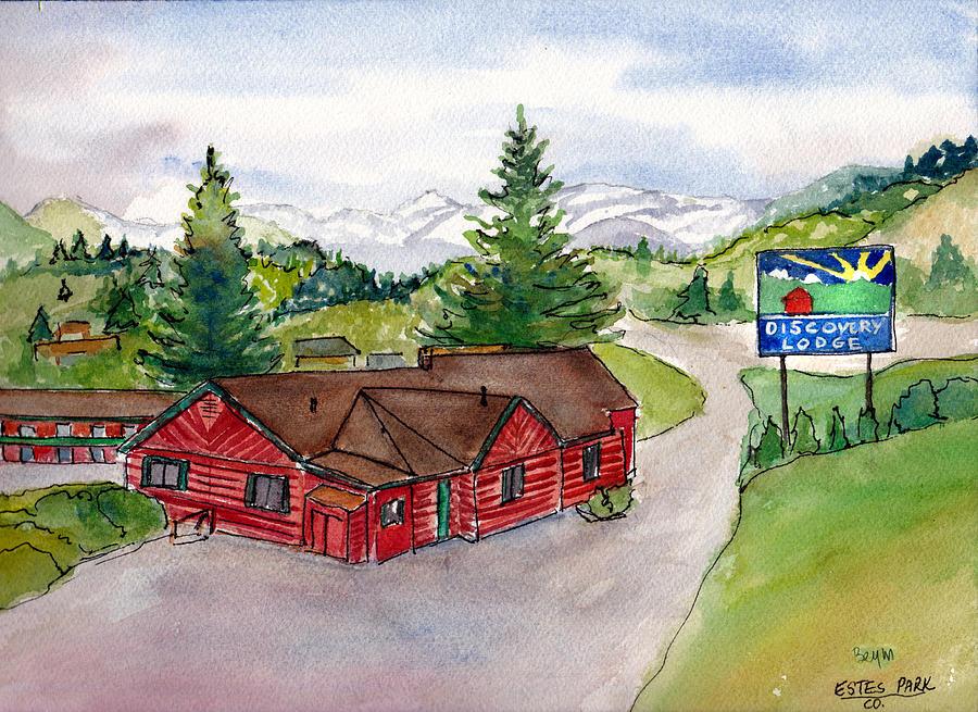 Discovery Lodge, Estes Park, Co by Clara Sue Beym