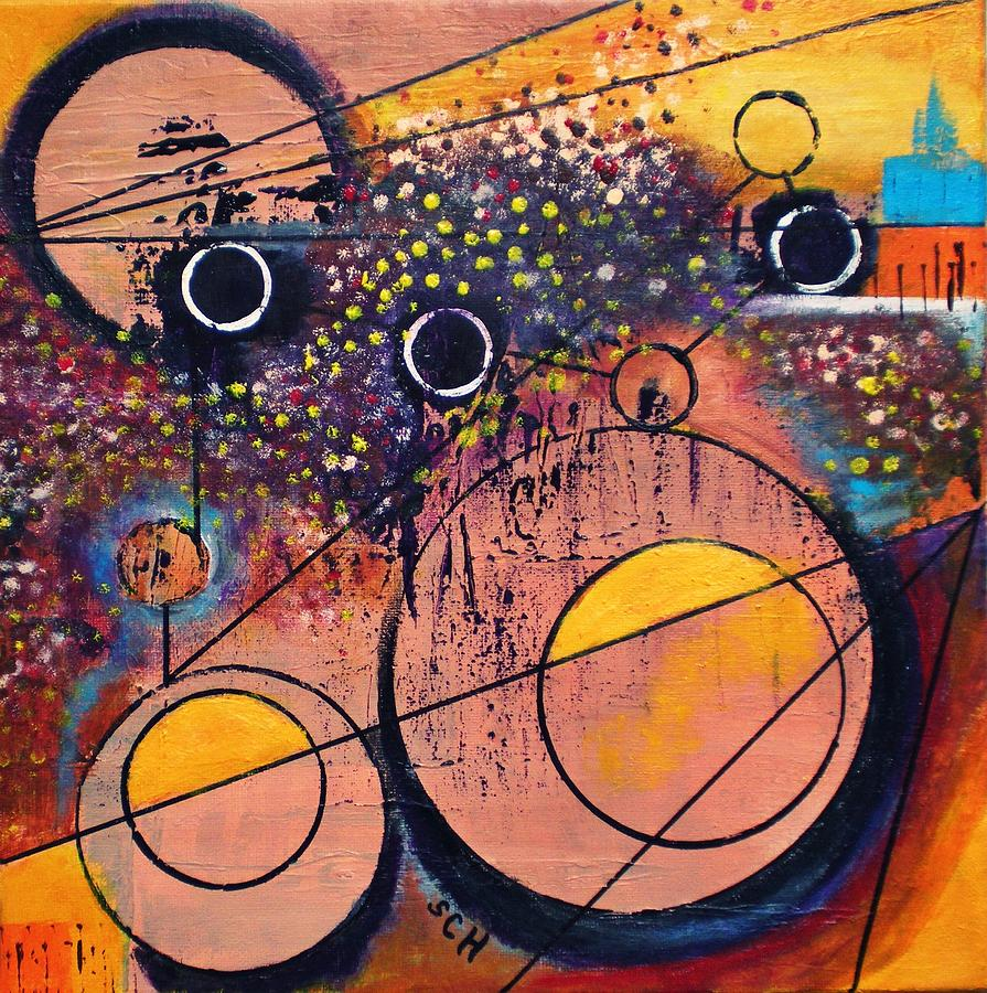 Abstract Painting - Discovery by Scott Haley