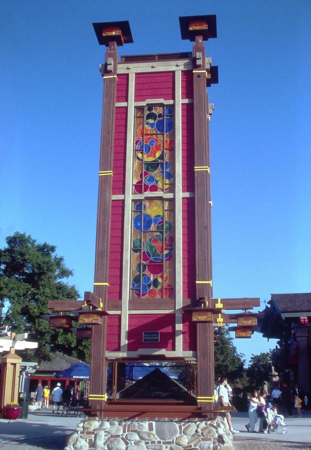 Disney Marketplace Kaleidoscope 1990s Photograph