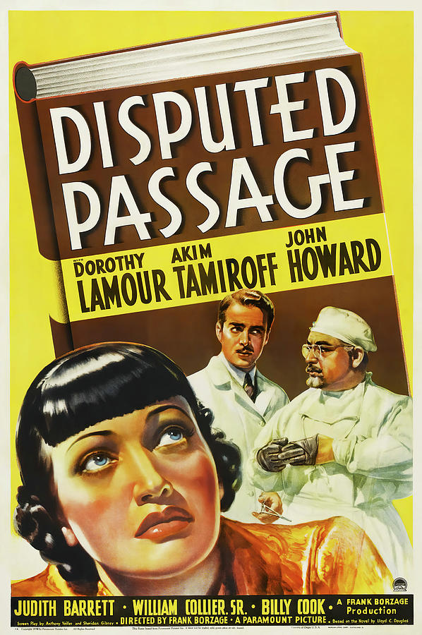 disputed Passage, With Dorothy Lamour, 1939 Mixed Media