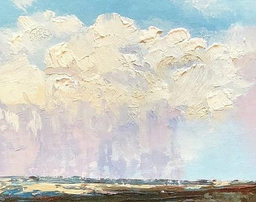 Distant Rain by Donna Joy Cavaliere