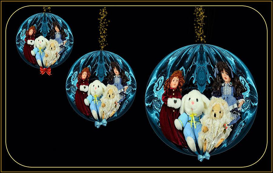 Distinctive Digital Ornaments Mixed Media