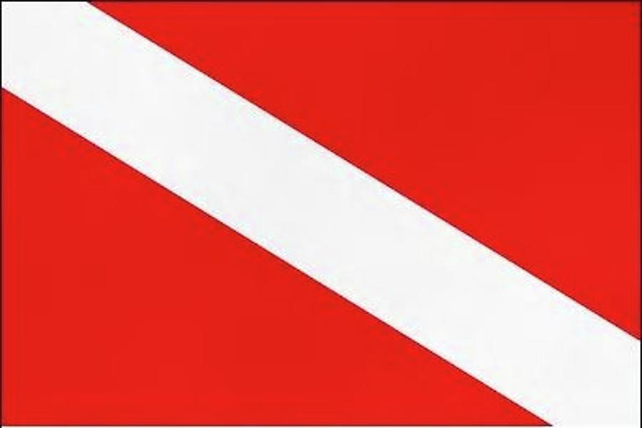 Dive Flag Photograph