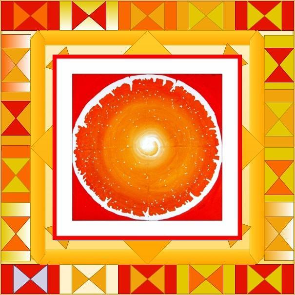 Divine Blooms-22385 Painting
