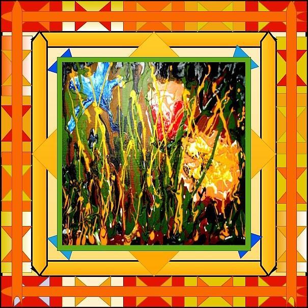 Divine Blooms-22386 Painting