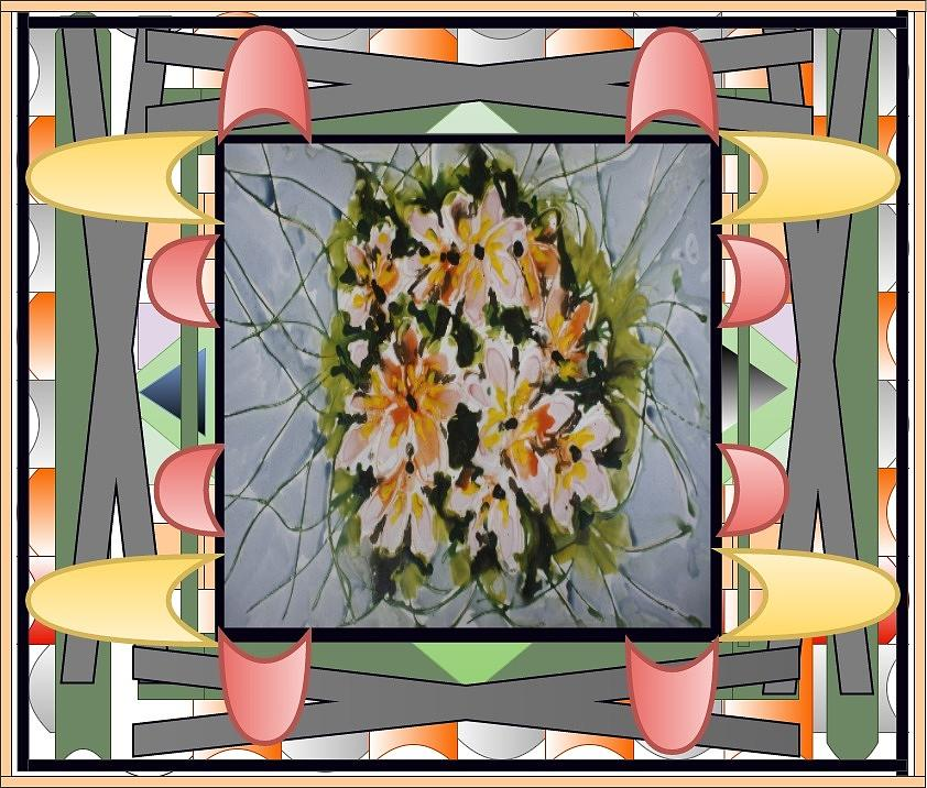 Divine Blooms-22388 Painting