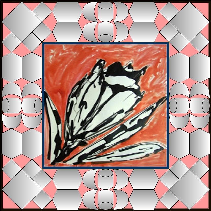 Zen Tapestry - Textile - Divine Blooms-22391 by Baljit Chadha