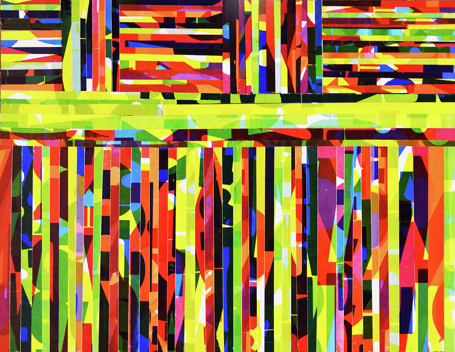 Abstract Mixed Media - Divine Direction Disruption by Color Bliss