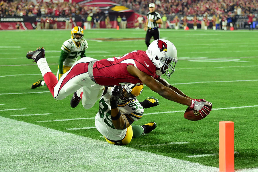 Divisional Round - Green Bay Packers v Arizona Cardinals Photograph by Harry How