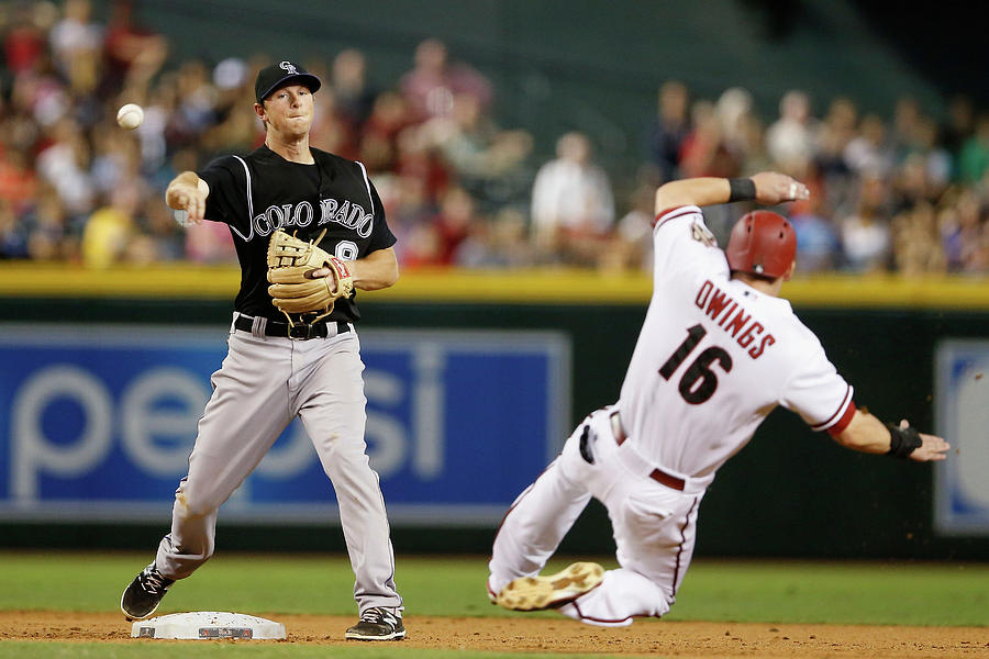 Dj Lemahieu and Chris Owings Photograph by Christian Petersen