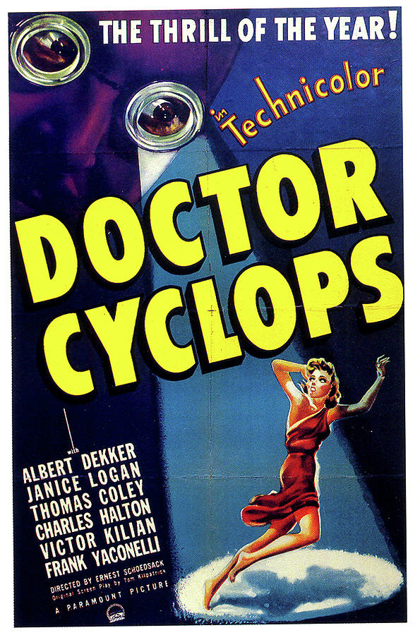 doctor Cyclops Movie Poster 1940 Mixed Media