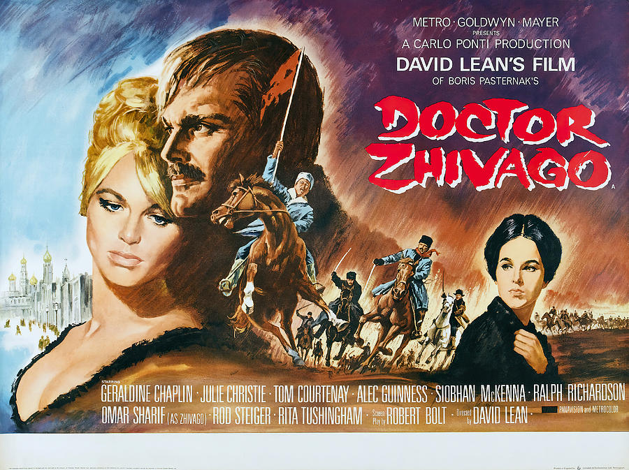doctor Zhivago, With Omar Sharif And Julie Christie, 1965 Mixed Media