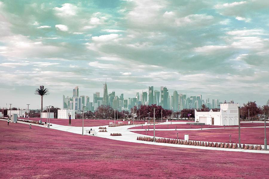 Doha, Qatar 2 - Surreal Art By Ahmet Asar Digital Art