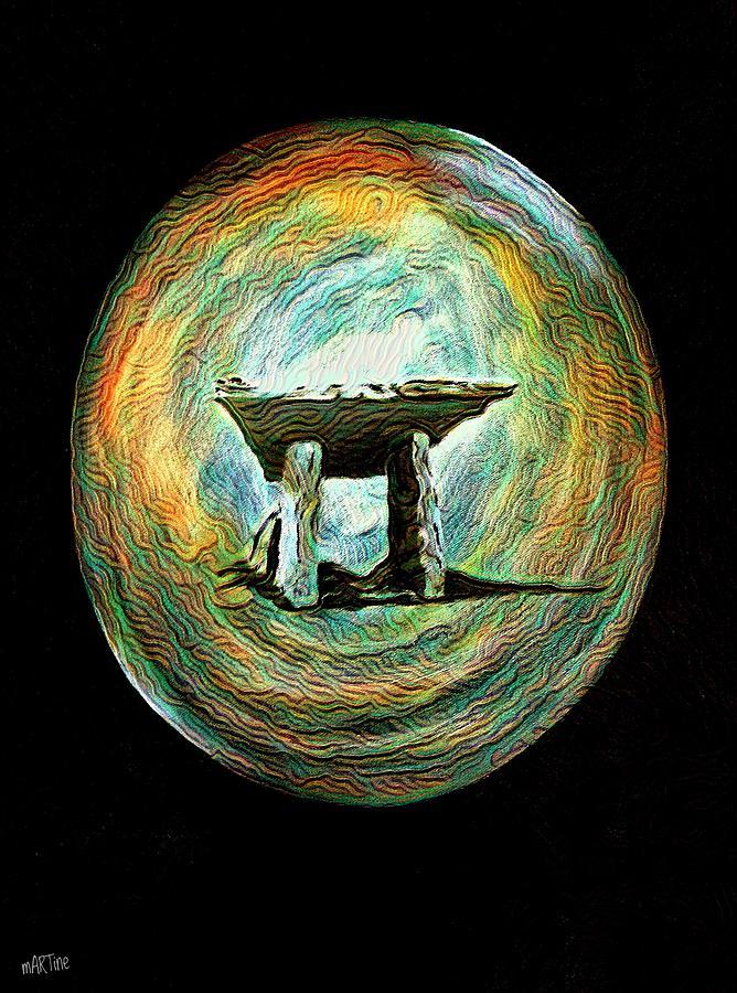 Dolmen Revisited Digital Art