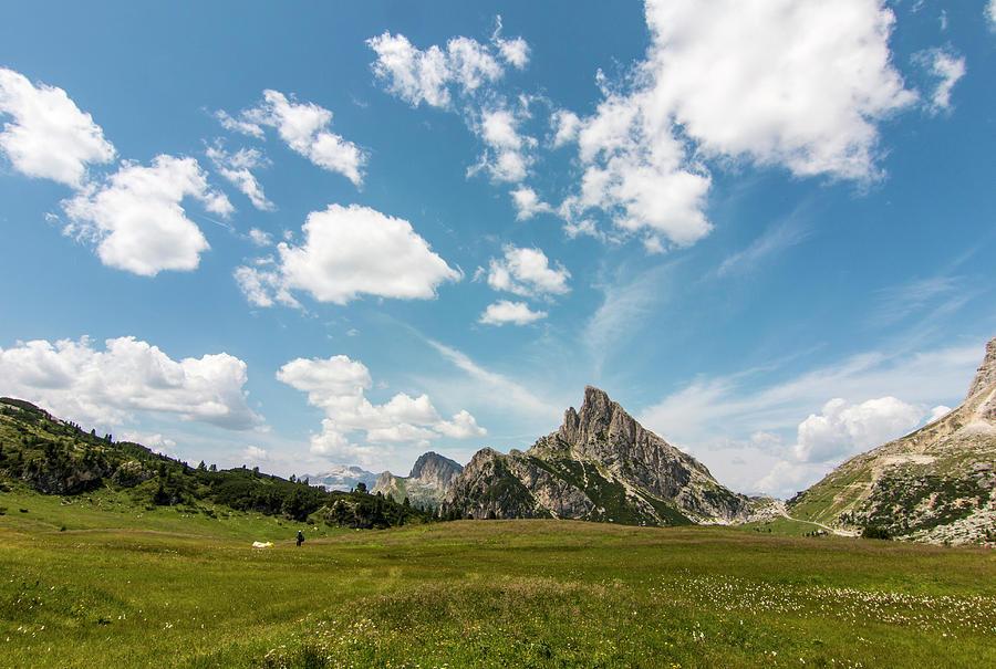 Dolomites landscape by Pietro Ebner
