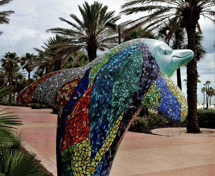 Dolphin Mosaic 2 Photograph
