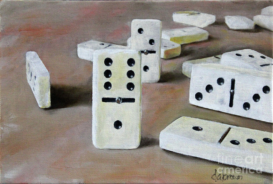 Dominoes 30 by D A Brown